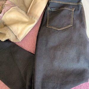 D.jeans New York black jeans